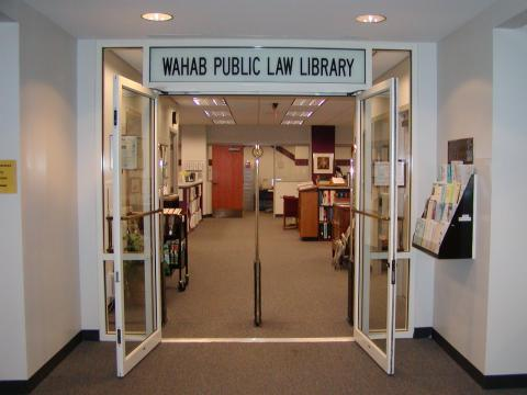 Wahab Public Law Library